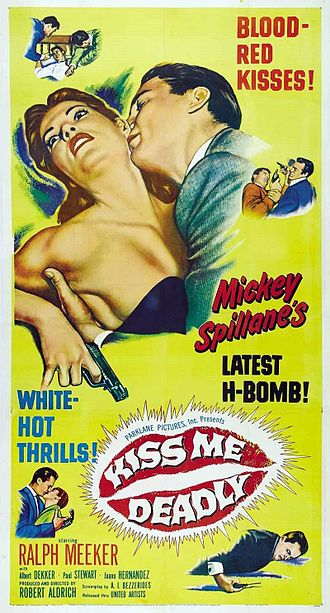Kiss Me Deadly - Theatrical release poster