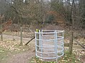 Kissing gate near Squerryes Park - geograph.org.uk - 1755923.jpg