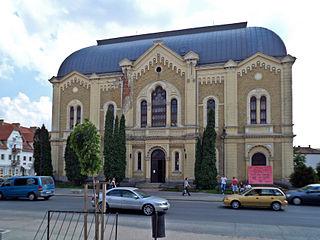 Kisvárda Town in Szabolcs-Szatmár-Bereg, Hungary