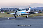 Kitair Pty Ltd (VH-BZS) Beech A36 Bonanza taxiing at Wagga Wagga Airport.jpg
