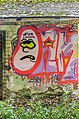 Klagenfurt Villacher Vorstadt Am Kreuzbergl 15 alte Schießstätte Graffiti 17102015 5210.jpg