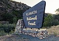 Klamath National Forest, California Sign (29026592225).jpg