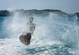 Kneeboarding (towsport) - Kneeboarder