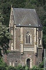 Kobern-Gondorf, Schlosskapelle, Südost - 1 (2021-07-30 Sp).JPG