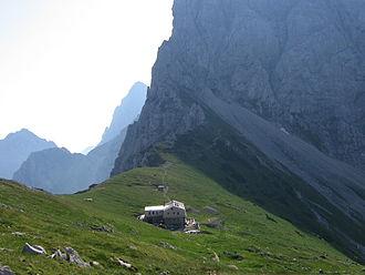 Kamnik Saddle Lodge - Image: Koca na Kamniskem sedlu