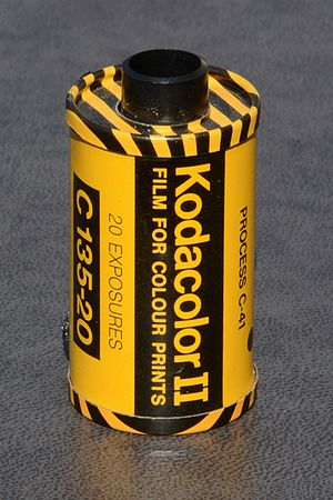 Kodacolor (still photography) - Kodacolor II - 35mm-film for colour prints