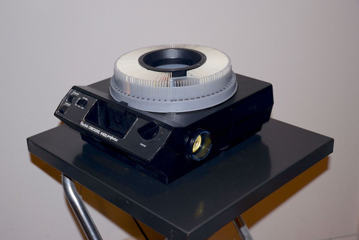 carousel slide projector wikipedia