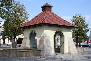 Kolbuszowa Place in Subcarpathian Voivodeship, Poland