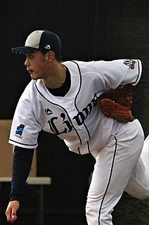Kona Takahashi Japanese baseball player