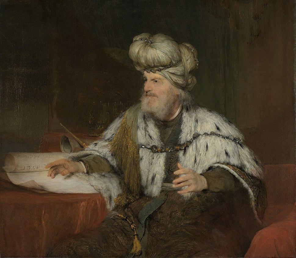 Koning David.Aert de Gelder
