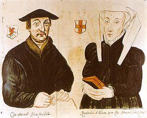 Konrad Heresbach - Konrad Heresbach and Mechthild van Duynen.