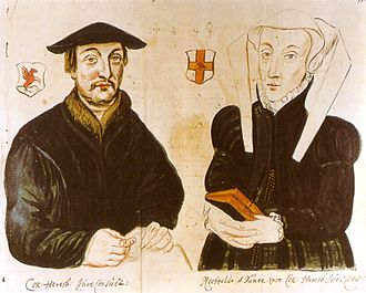 Konrad Heresbach - Konrad Heresbach and Mechthild van Duynen.