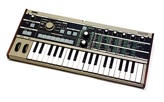 microKORG Synthesizer released in 2002