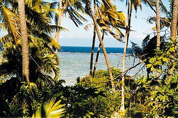 English: Beach at Korotogo, Coral Coast of Vit...