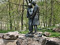 Korsun-Shevchenkivskyi park-Yan and Natalka.jpg