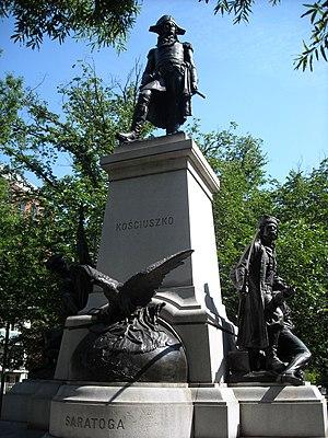 Brigadier General Thaddeus Kosciuszko - Image: Kosciuszko statue DC