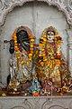 Krishna and Radha - Idols - Radha-Krishna Mandir - Narna - Howrah 2014-04-14 0284.JPG