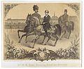 Kronprinz Rudolf zu Pferd mit zwei Begleitern.jpg