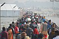 Kumbh Mela - People On Pontoon Bridge - 14 Jan 2019.jpg