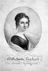 Wilhelmine Reichard, first German balloonist