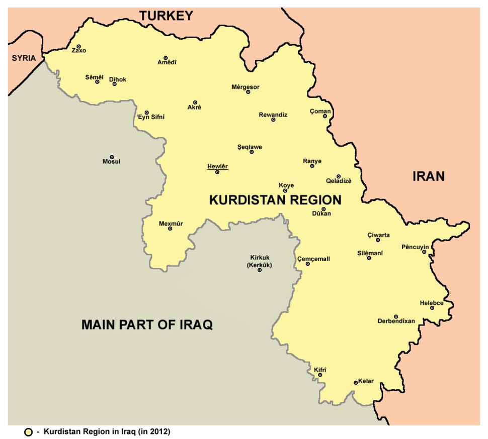 Kurdistan 2012