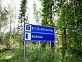 Kurikka and Etelä-Pohjanmaa border sign.jpg