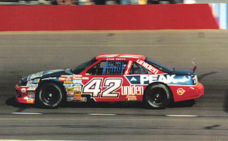 Chip Ganassi Racing - Kyle Petty's No. 42 SABCO Pontiac in 1989.