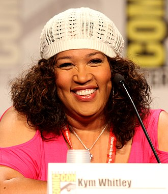 Kym Whitley - Whitley at the Comic Con in San Diego, 2011.