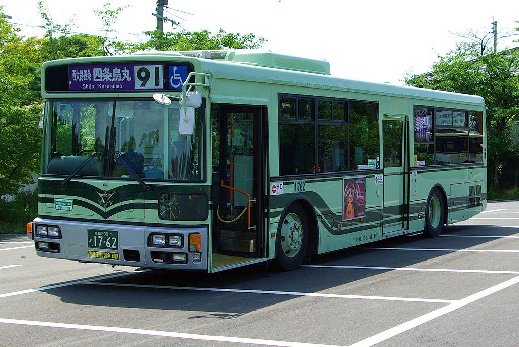 Kyoto City Bus Fusou PDG-AA273MAN r