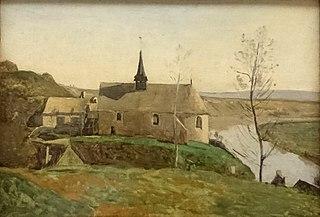 L'Église de Rolleboise, près de Mantes