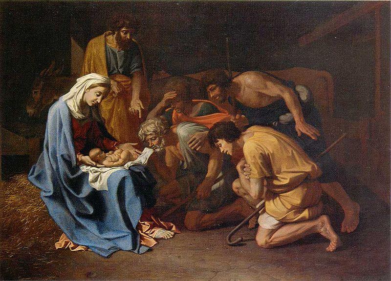 L'Adoration des bergers - Poussin - Alte Pinakothek München dans immagini sacre 800px-L%27Adoration_des_bergers_-_Poussin_-_Alte_Pinakothek_M%C3%BCnchen