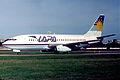 LAPA Boeing 737-200; LV-WNA@AEP, May 1997 BWV (5883727497).jpg