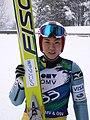LCOC Ski jumping Villach 2010 - Ayumi Watase 62.JPG