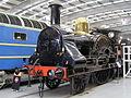LNWR 2-2-2 3020 'Cornwall' (1847) Locomotion Shildon 29.06.2009 P6290037 (9989612863).jpg