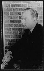 Black-and-white photo of William Inge in 1954.