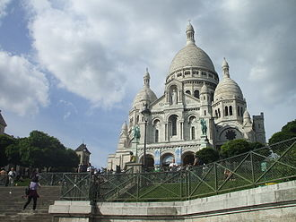 French Third Republic - The Sacré-Cœur Basilica was built as a symbol of the Ordre Moral.
