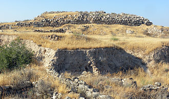 Tel Lachish - Commander's palace.