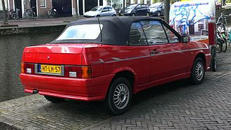 "Lada Samara - 1992 Lada Samara Cabriolet, also called ""Natasha"""