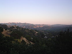 A view of Lafayette, California