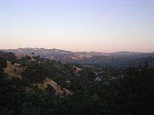 Lafayette, California - A view of Lafayette, California