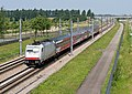 Lage Zwaluwe E 186 144 (wit) Fyra naar Breda (9178650876).jpg