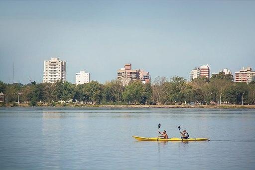 Laguna Don Tomás canoe