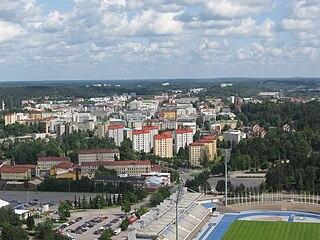 Lahti City in Päijänne Tavastia, Finland