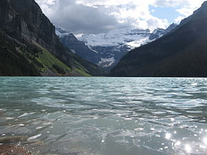 Monarchy in Alberta - Image: Lake Louise and Victoria Glacier