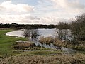 Lake on Outney Common golf course, Bungay - geograph.org.uk - 2241814.jpg