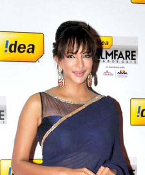 Lakshmi Manchu - Manchu Lakshmi at the 60th Filmfare Awards South