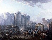 Lallemand - Arrestation du gouverneur de la Bastille - 1790