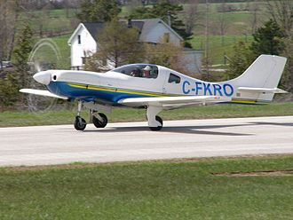 Hanover Saugeen Airport - Image: Lancair 320 360 C FKRO 04