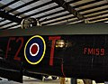 Lancaster Mk X FM159 dorsal turret at Bomber Command Museum Canada Flickr 3243461418.jpg