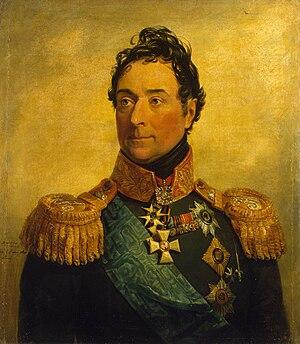 Louis Alexandre Andrault de Langeron - The Comte de Langeron, portrait from the Military Gallery of the Winter Palace.